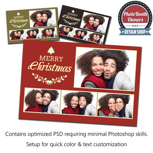 Classy Christmas Postcard