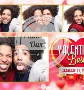 Passion of the Valentine Bash Postcard