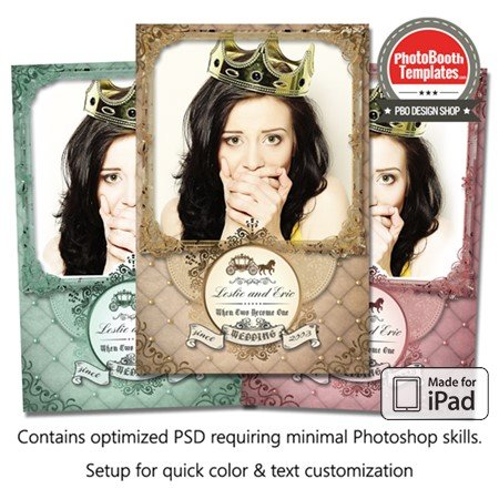 Vintage Fairytale  Portrait (iPad)