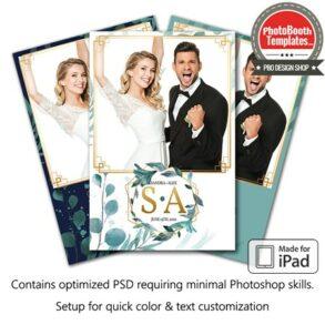 Romantic Leaflets Portrait (iPad)