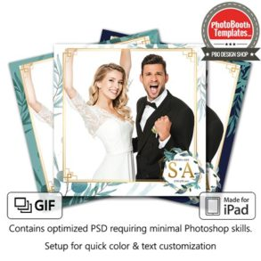 Romantic Leaflets Square (iPad)
