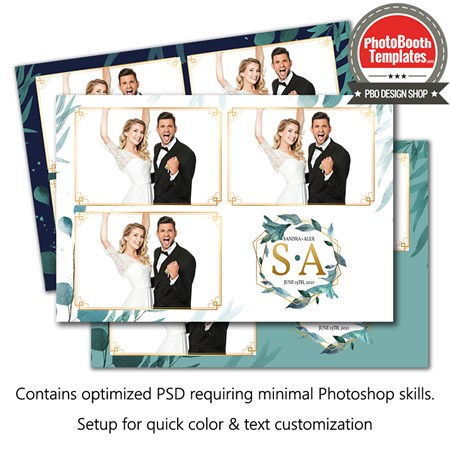 Romantic Leaflets Postcard 1